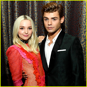 Dove Cameron & Garrett Clayton Have a 'Hairspray' Reunion at Gracie Awards!