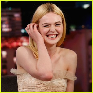 Elle Fanning Didn't Go to College Because of Jimmy Kimmel!
