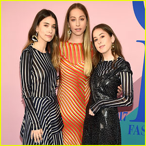 Haim Brings Three Times the Stripes to the CFDA Awards 2017!