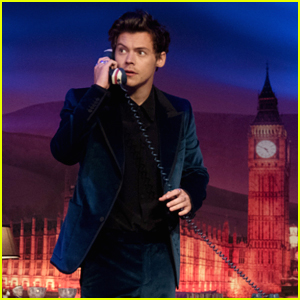 Harry Styles Visits James Corden at His 'Late Late Show' London Takeover - Watch!