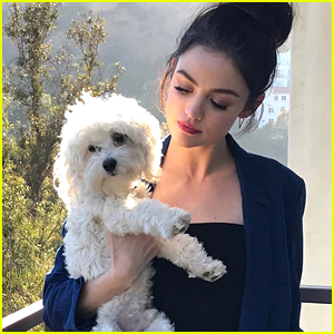 Lucy Hale Celebrates Her Dog-iversary With an Adorable Throwback Pic