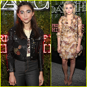 Rowan Blanchard Joins Chloe Moretz at Coach's Summer Party in NYC