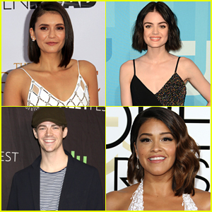 Heres How Lucy Hale Nina Dobrev Grant Gustin More Reacted To Their Teen Choice Nominations