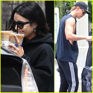 Vanessa Hudgens Grabs Coffee with Boyfriend Austin Butler