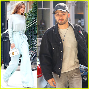 Gigi Hadid & Boyfriend Zayn Malik Enjoy Some Time Off in NYC Together