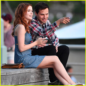 Jake Robinson with his girlfriend Zoey Deutch