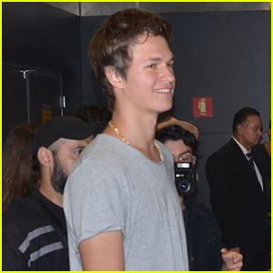 Ansel Elgort Wants John Green To 'Write Another Amazing Story'