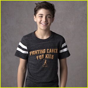 Andi Mack's Asher Angel Named Official Celebrity Ambassador For Ronan Thompson Foundation (Exclusive)