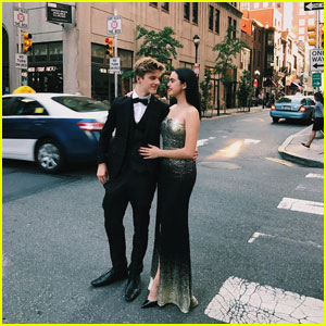 Bailee Madison's Boyfriend Alex Lange Sets Up Cutest Promposal Ever - Watch Now!