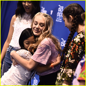 Bizaardvark's DeVore Ledridge Couldn't Stop Giving Out Massive Hugs at D23 Expo