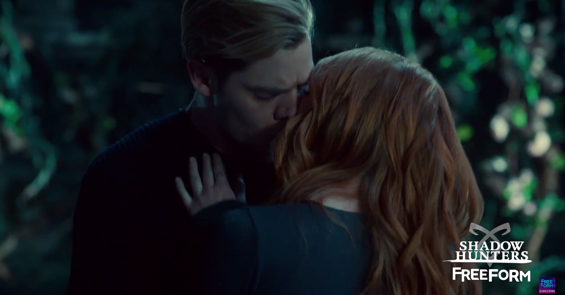 clary and jace tv serie