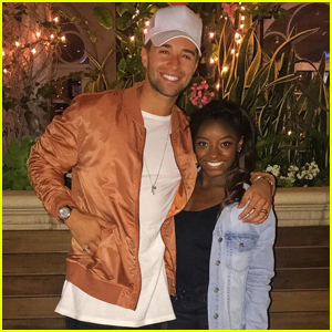 Jake Miller Got Dinner With Simone Biles to Celebrate Her ESPY Wins