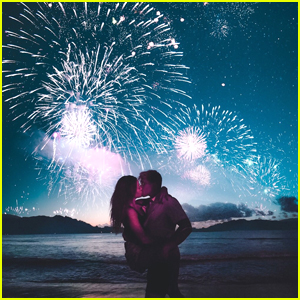 Jake Paul & Erika Costell's 4th of July Kiss Lit Up The Sky with Fireworks!