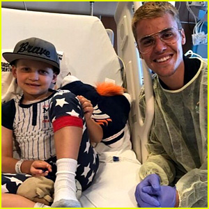 Justin Bieber Brings Fan to Tears at Children's Hospital of Orange County - Watch Now!