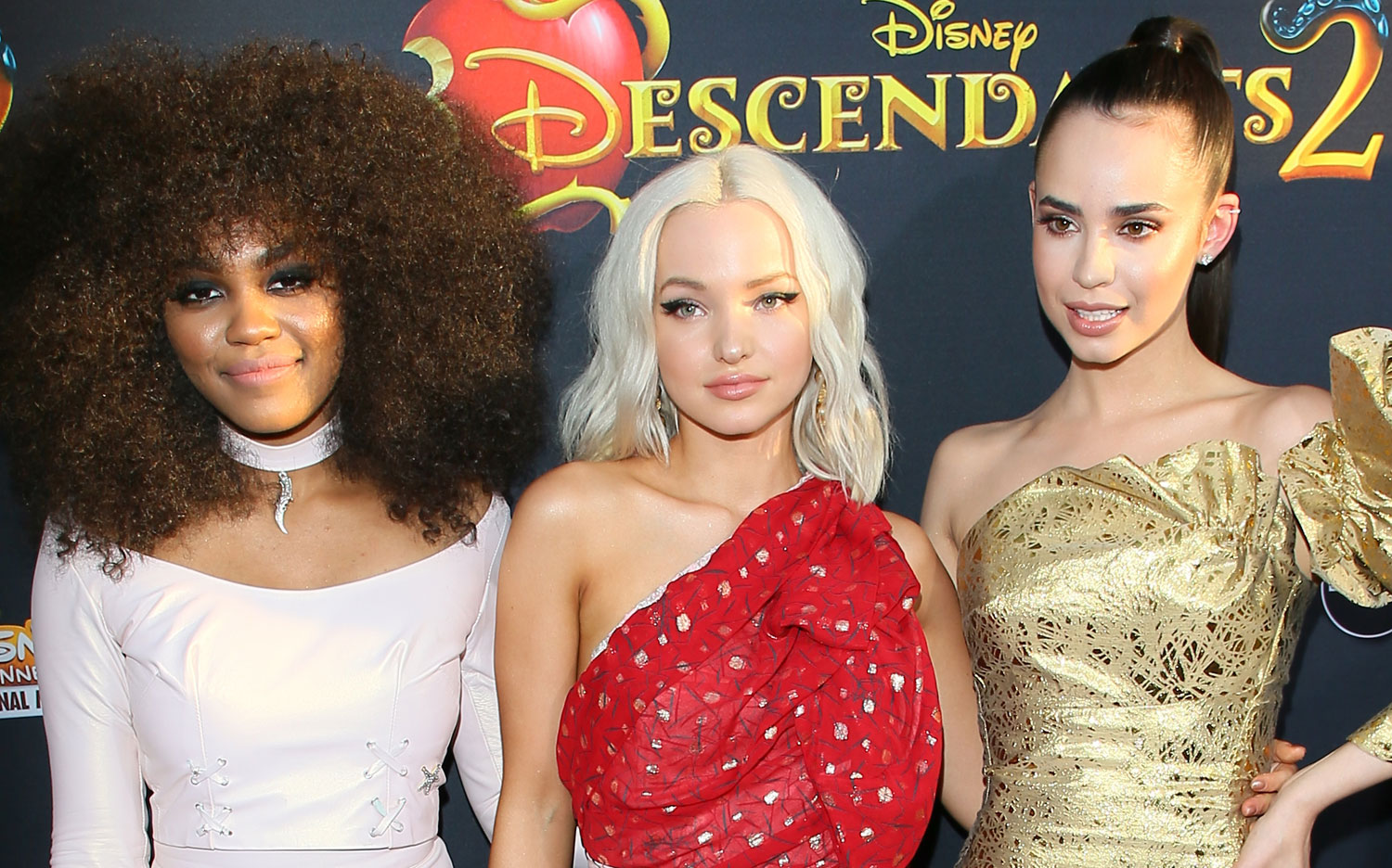 China mcclain breaking news and photos just jared jr page 5 - Descendants Dove Cameron Sofia Carson China Anne Mcclain Gush Over Each Other Exclusive