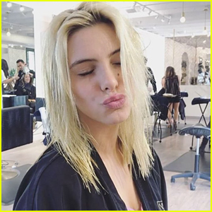 Lele Pons Cuts & Donates Her Long Blonde Hair - See Her New Look!