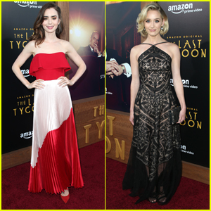 Lily Collins Looks Like She Time Traveled From The 1930s for 'The Last Tycoon' Premiere