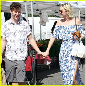 Nolan Gould Couples Up With Hannah Glasby at a Farmer's Market
