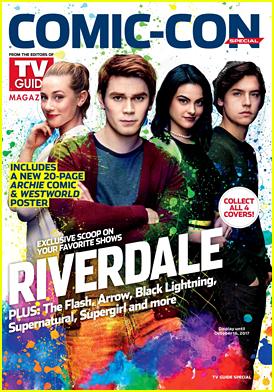 'Riverdale' Cast Grabs Cover of TVGuide for Comic-Con 2017!
