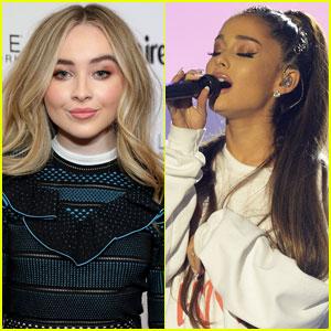 Sabrina Carpenter Praises Former Tourmate Ariana Grande For Manchester Benefit