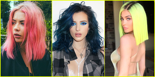 Summer Hairspiration: 7 Crazy Colors Your Fave Celebs Would Endorse
