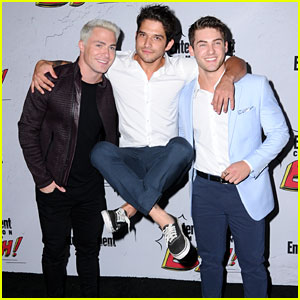 'Teen Wolf' Guys Get Silly at EW's Comic-Con Party 2017!