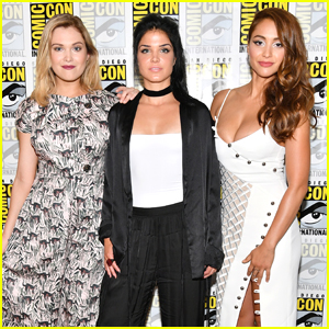 Lindsey Morgan, Eliza Taylor & 'The 100' Cast Dish on Just Who Was In That Ship