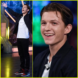 Tom Holland Busts a Move (or 10) While Promoting 'Spider-Man' on ...