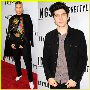 Sofia Richie & Famous in Love's Carter Jenkins Look Sharp at 'Tings' Magazine Party