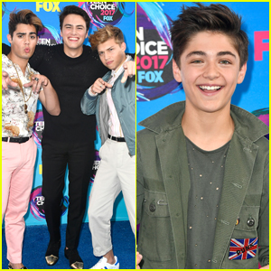 Asher Angel Joins Forever In Your Mind At Teen Choice Awards 2017