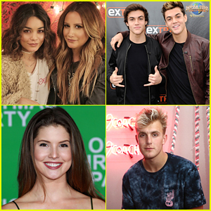 Ashley Tisdale, Amanda Cerny, Dolan Twins, Jake Paul & More Nominated For Streamy Awards