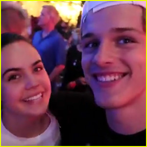 Bailee Madison & Alex Lange Take Fans Inside Their First Date at Disneyland! (Video)