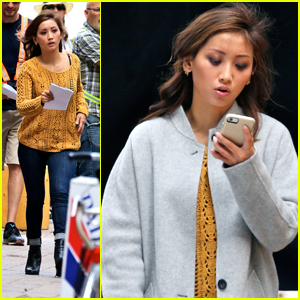 Brenda Song Starts Filming New Movie 'Angry Angel' in Toronto