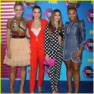 Dance Moms' Chloe, Nia, Kendall & Kalani Hit The Teen Choice Awards 2017 Together