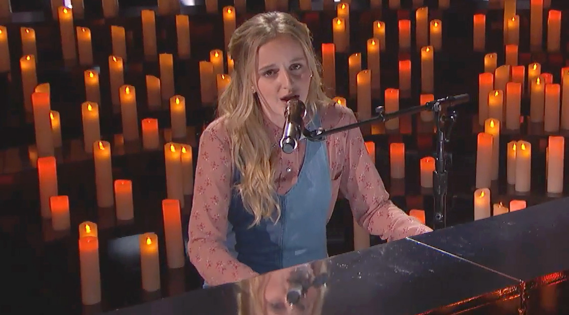 Evie Clair Performs Birdy Song On 'America's Got Talent