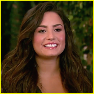 Demi Lovato Talks Prioritizing Her Mental Health & Going to Therapy