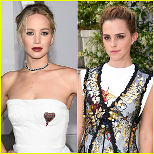 Emma Watson & Jennifer Lawrence are Over These Means Comments