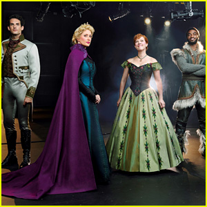 See Broadway's 'Frozen' Cast in Costume!