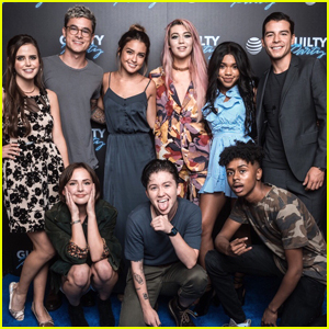 Teala Dunn, Manolo Gonzalez Vergara & Cast of 'Guilty Party' Host Family & Friends Screening