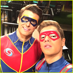 Jace Norman Kicks Off Filming 'Henry Danger' Season 5 with Cooper Barnes
