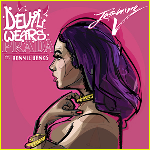 Jasmine V Dishes On New Song 'Devil Wears Prada' & Working With Fiance Ronnie Banks (Exclusive)