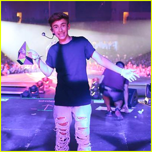 Johnny Orlando Just Played His First Arena Show