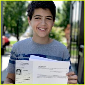 'Andi Mack' Star Joshua Rush Gets His Driver's Permit!
