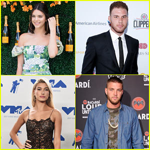 Kendall Jenner & Hailey Baldwin Have Dinner Date With Blake Griffin & Chandler Parsons (Video)