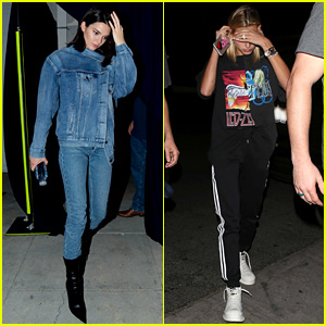 Kendall Jenner & Hailey Baldwin Double Date With Blake Griffin & Chandler Parsons After Church
