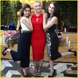 Laura Marano Is Classically Chic at Ted Baker's Collection Dinner with Sister Vanessa & Greer Grammer