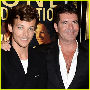 Louis Tomlinson Got Help From Simon Cowell During a Pretty Scary Moment