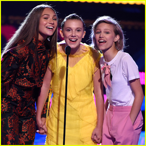 Maddie Ziegler, Millie Bobby Brown & Grace VanderWaal Are the Girl Group We All Want To Be Part Of