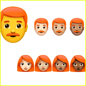 The Redhead Emoji Is Officialy Coming To iPhones Everywhere...Next Year!