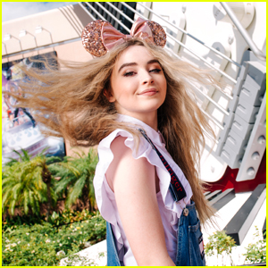 Sabrina Carpenter Takes a De-Tour To Disney World!
